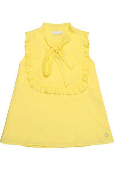 Купить Блуза, Meilisa Bai, Желтый, Полиэстер-100%, Женский