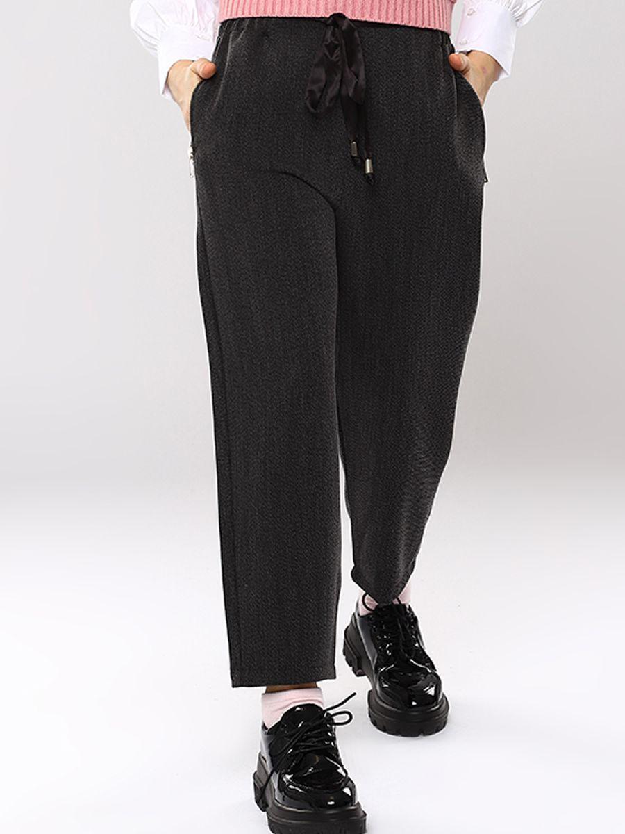 брюки y-clu' для девочки, серые