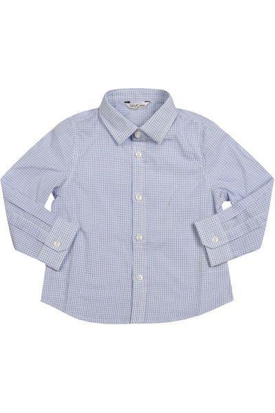 рубашка street gang для мальчика, голубая