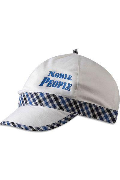 Купить Бейсболка, Noble People, Белый, Хлопок-95%, Эластан-5%, Мужской