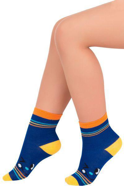 Носки для девочки SNK1498 синий Charmante, Китай (КНР)