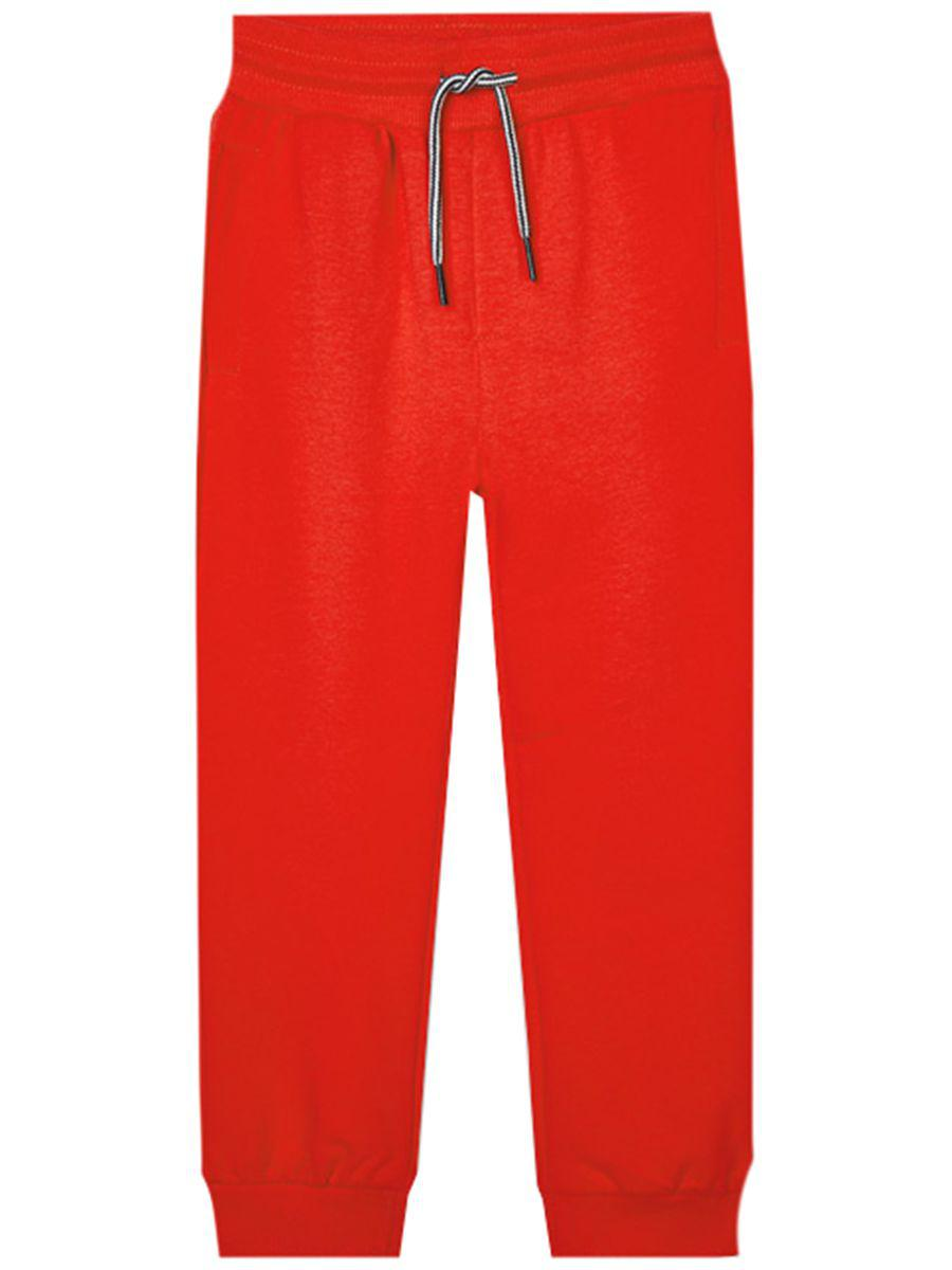 брюки mayoral для девочки, красные