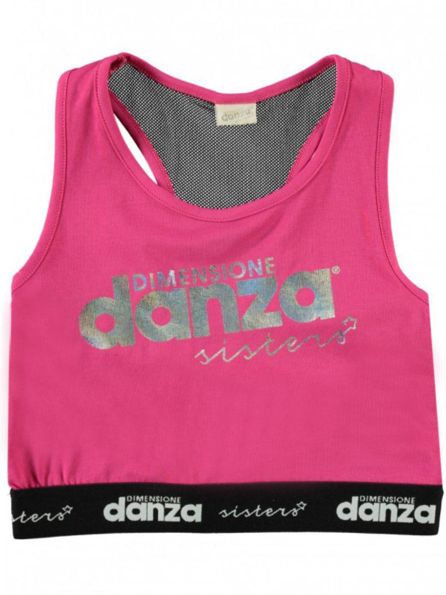 топ dimensione danza для девочки, розовый
