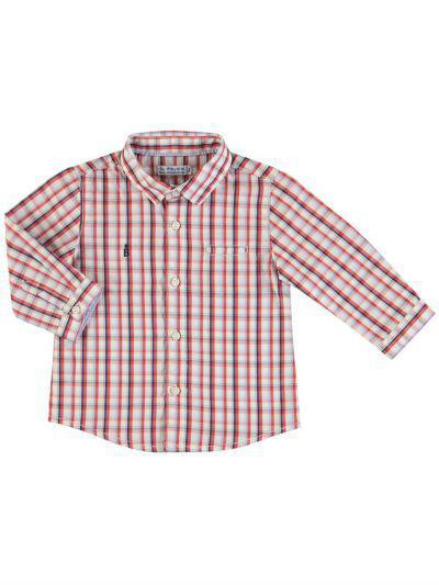 рубашка mayoral для мальчика, разноцветная