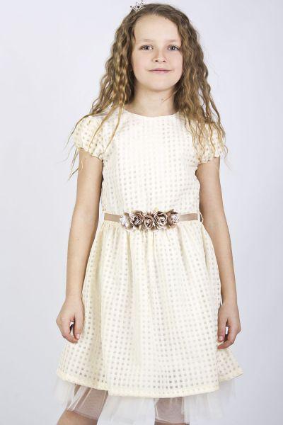 Купить Платье, Y-clu', Белый, Полиэстер-100%, Женский