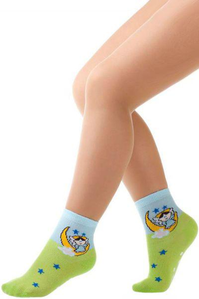Носки для девочки SBBK-1011 зелёный Charmante, Китай (КНР)