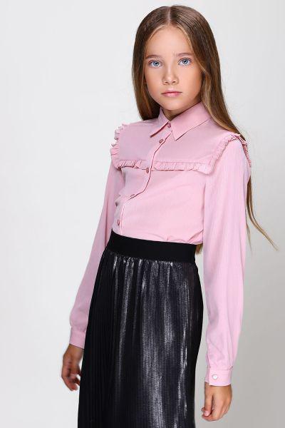Купить Блуза, To Be Too, Розовый, Полиэстер-100%, Женский
