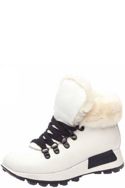 Купить Ботинки, Keddo, Белый, Искусственная кожа-100%, Женский