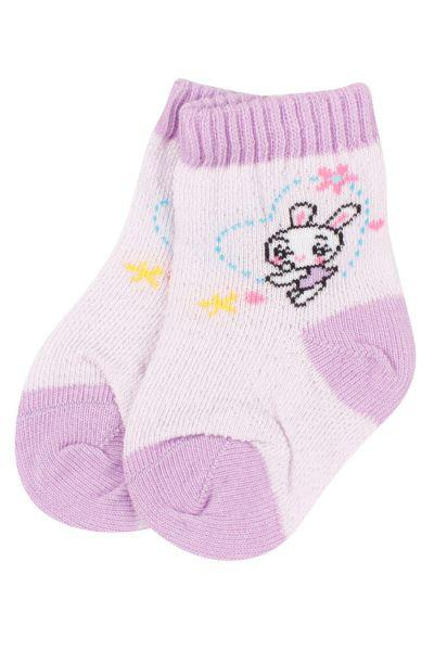 Носки для девочки SBBK-1460 фиолетовый Charmante, Китай (КНР)