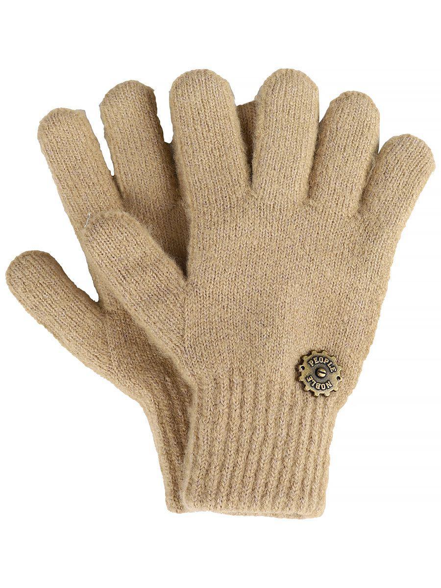 перчатки noble people для мальчика, бежевые