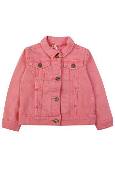 куртка gaudi для девочки, розовая