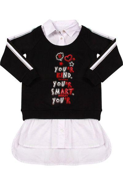 Толстовка+блуза