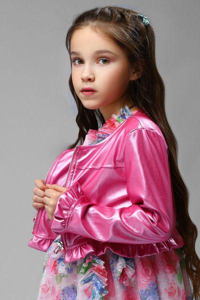 Купить Куртка, Meilisa Bai, Розовый, Полиэстер-57%, Полиуретан-43%, Женский