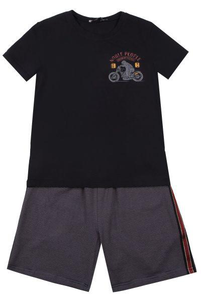 Купить Футболка+шорты, Noble People, Синий, Мужской