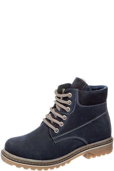 Купить Ботинки, Crosby, Синий, Нубук-100%, Мужской