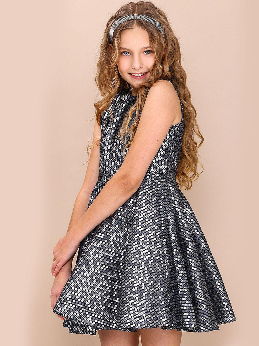 платье silver spoon для девочки, разноцветное