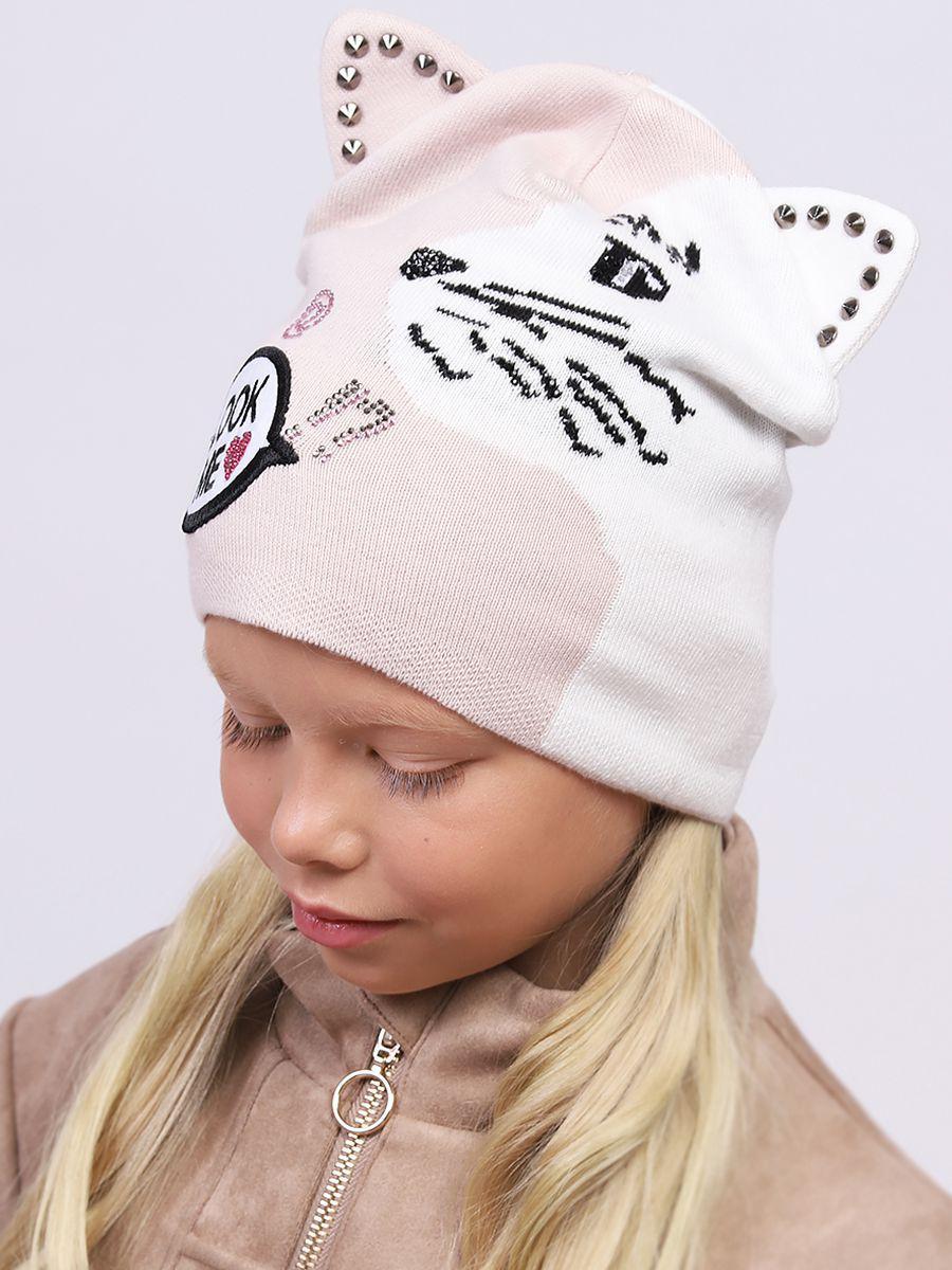 шапка noble people для девочки, разноцветная