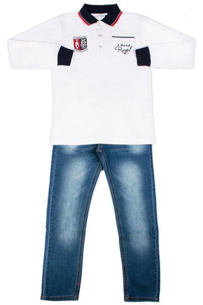 Купить Лонгслив+джинсы, Band, Разноцветный, Хлопок-95%, Эластан-5%, Мужской