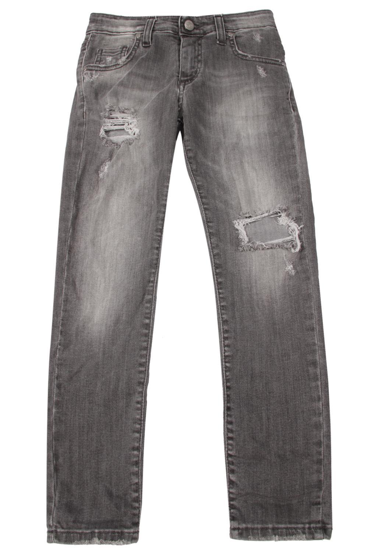 джинсы artigli для девочки, серые