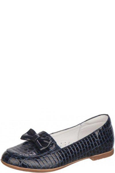 Туфли для девочки 93098-2 синий Kapika, Российская Федерация