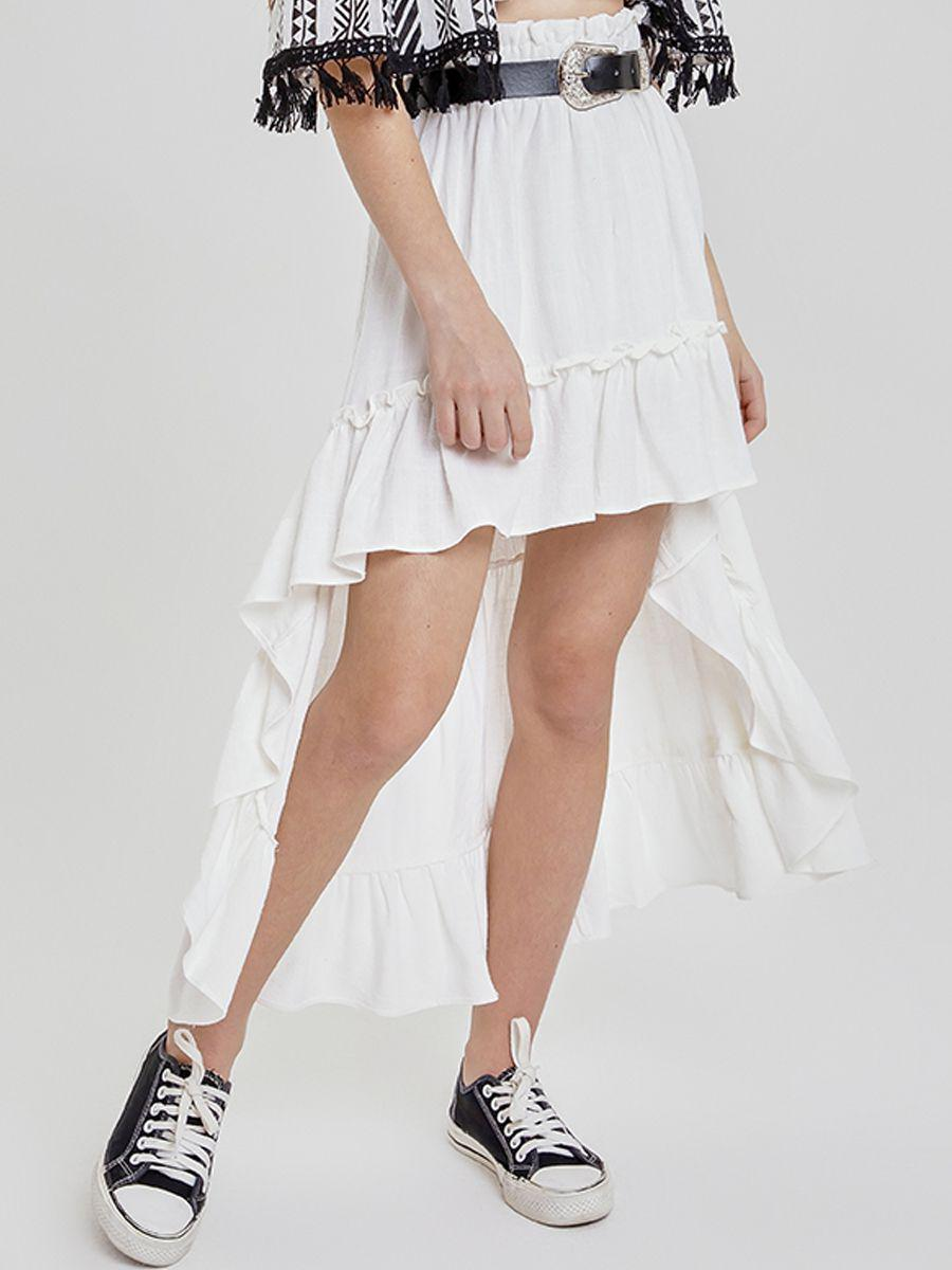 юбка to be too для девочки, белая