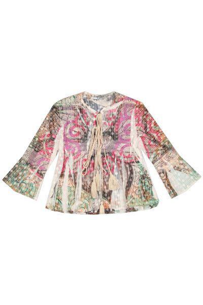 Купить Блуза, Custo Barcelona, Разноцветный, Хлопок-100%, Женский