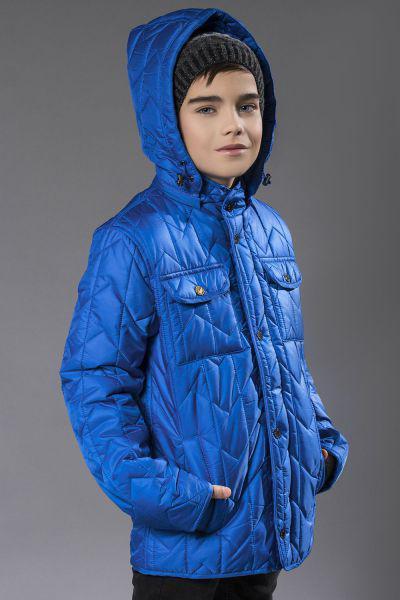 Купить Куртка, Les Trois Vallees, Голубой, Полиэстер-100%, Мужской