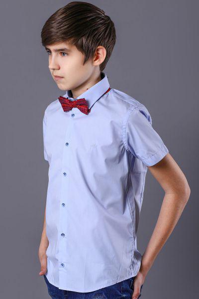 Купить Рубашка, Noble People, Голубой, Хлопок-80%, Полиэстер-20%, Мужской