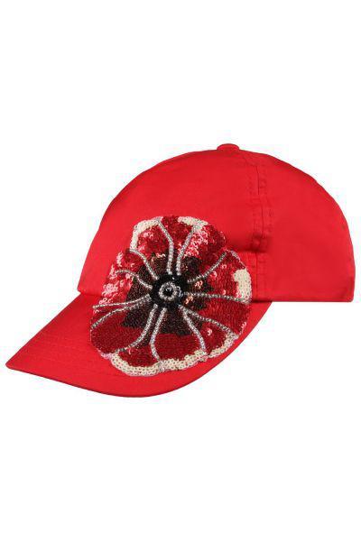 Бейсболка, Noble People, Красный, Хлопок-100%, Женский  - купить со скидкой