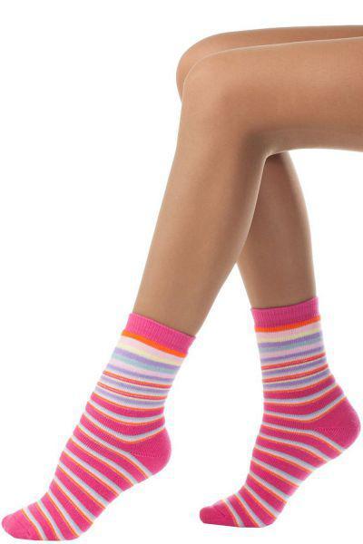 носки charmante для девочки, розовые