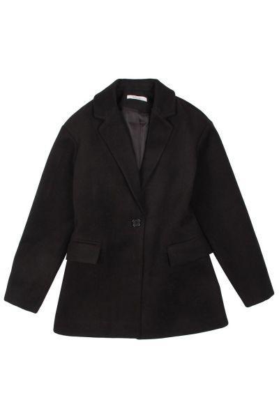 Купить Пальто, Gaialuna, Черный, Полиэстер-100%, Женский