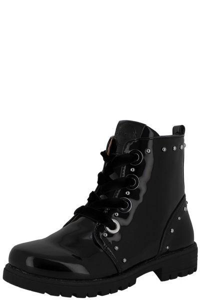 ботинки mayoral для девочки, черные