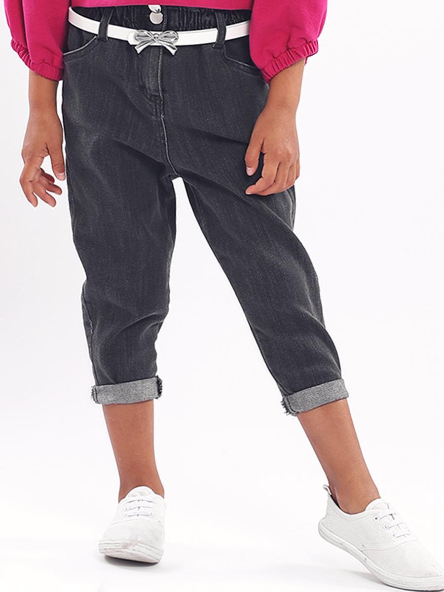 джинсы y-clu' для девочки, серые