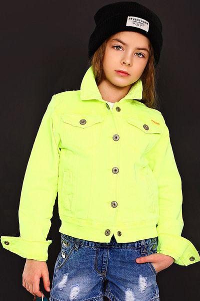Купить Куртка, Vingino, Желтый, Хлопок-98%, Эластан-2%, Женский