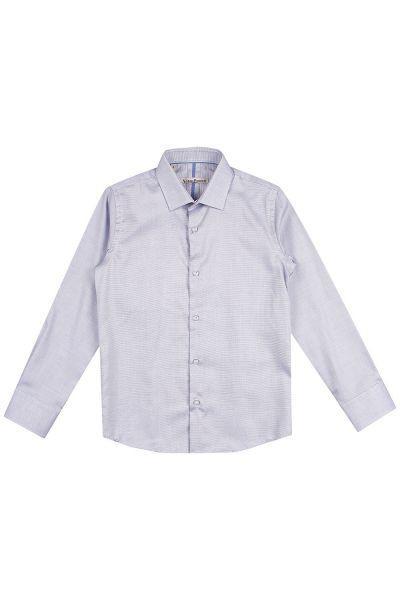 Рубашка, Noble People, Голубой, Хлопок-100%, Мужской  - купить со скидкой