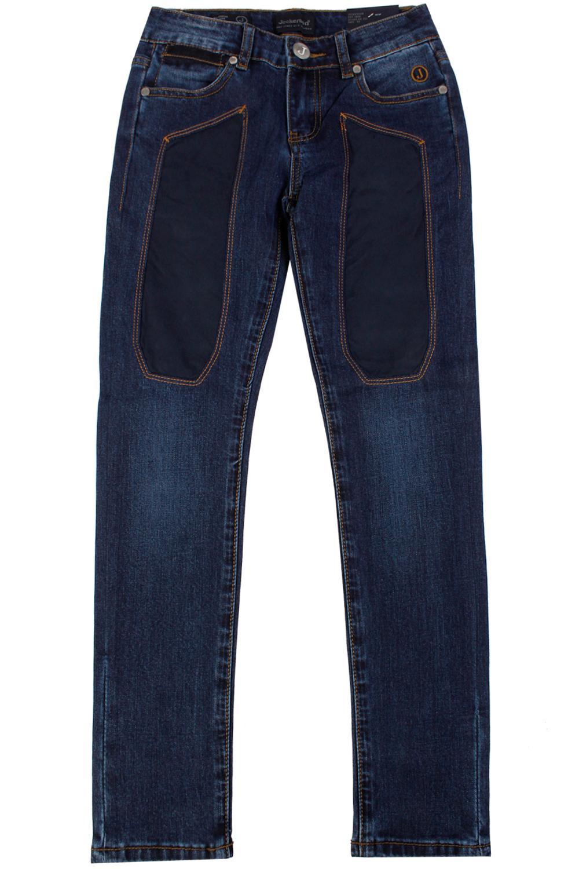 джинсы jeckerson для мальчика, синие