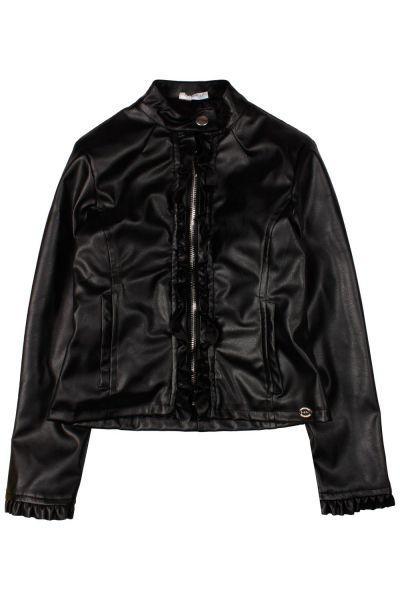 Купить Куртка, Byblos, Черный, Полиэстер-50%, Полиуретан-50%, Женский