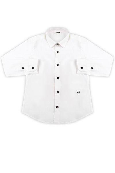 рубашка manuel ritz для мальчика, белая