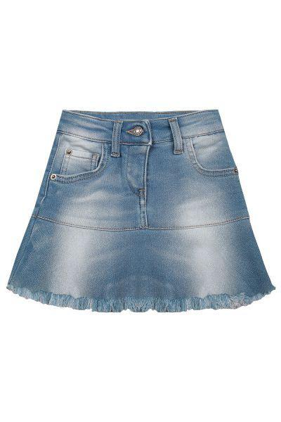 юбка gaudi для девочки, голубая