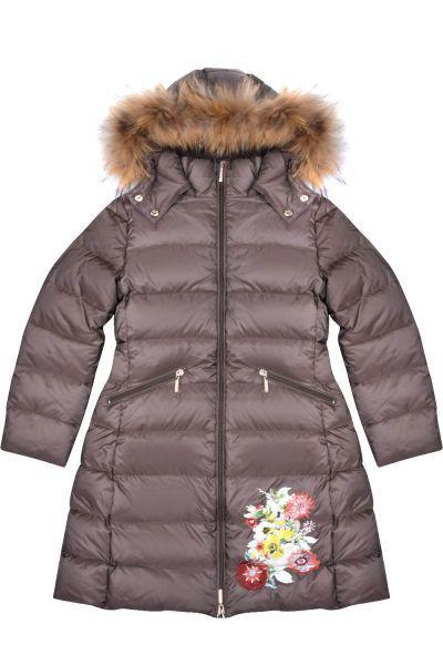 Купить Куртка, Les Trois Vallees, Коричневый, Полиэстер-64%, Нейлон-36%, Женский