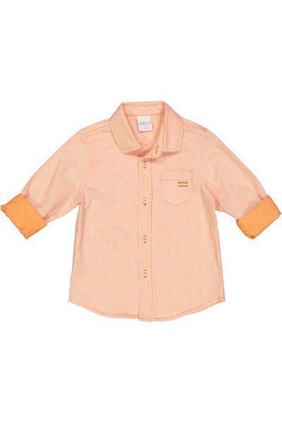 Купить Рубашка, Trybiritaly, Оранжевый, Хлопок-100%, Мужской