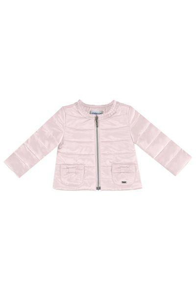 Купить Куртка, Mayoral, Розовый, Полиэстер-57%, Полиамид-43%, Женский