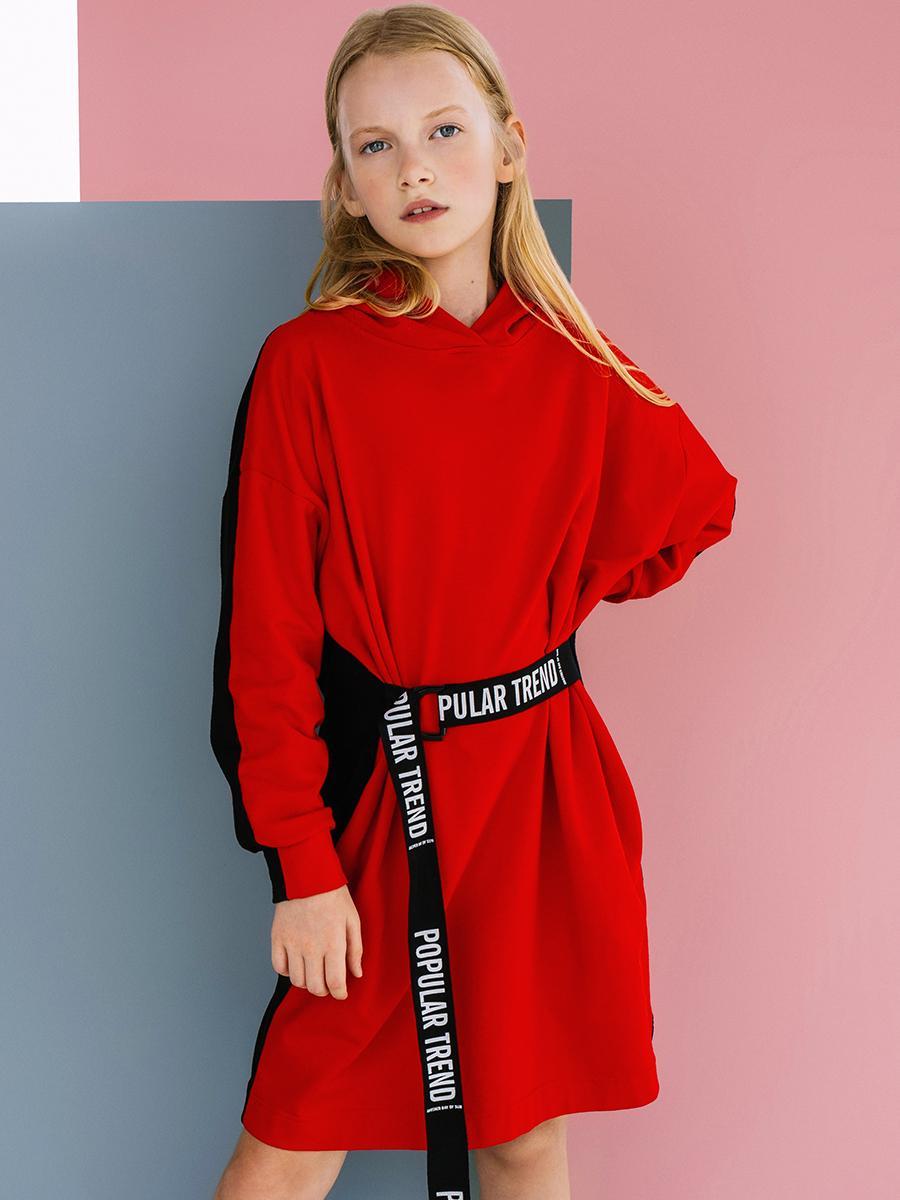 платье noble people для девочки, красное