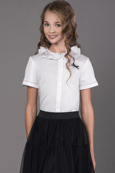 Купить Блуза, Noble People, Белый, Хлопок-100%, Женский