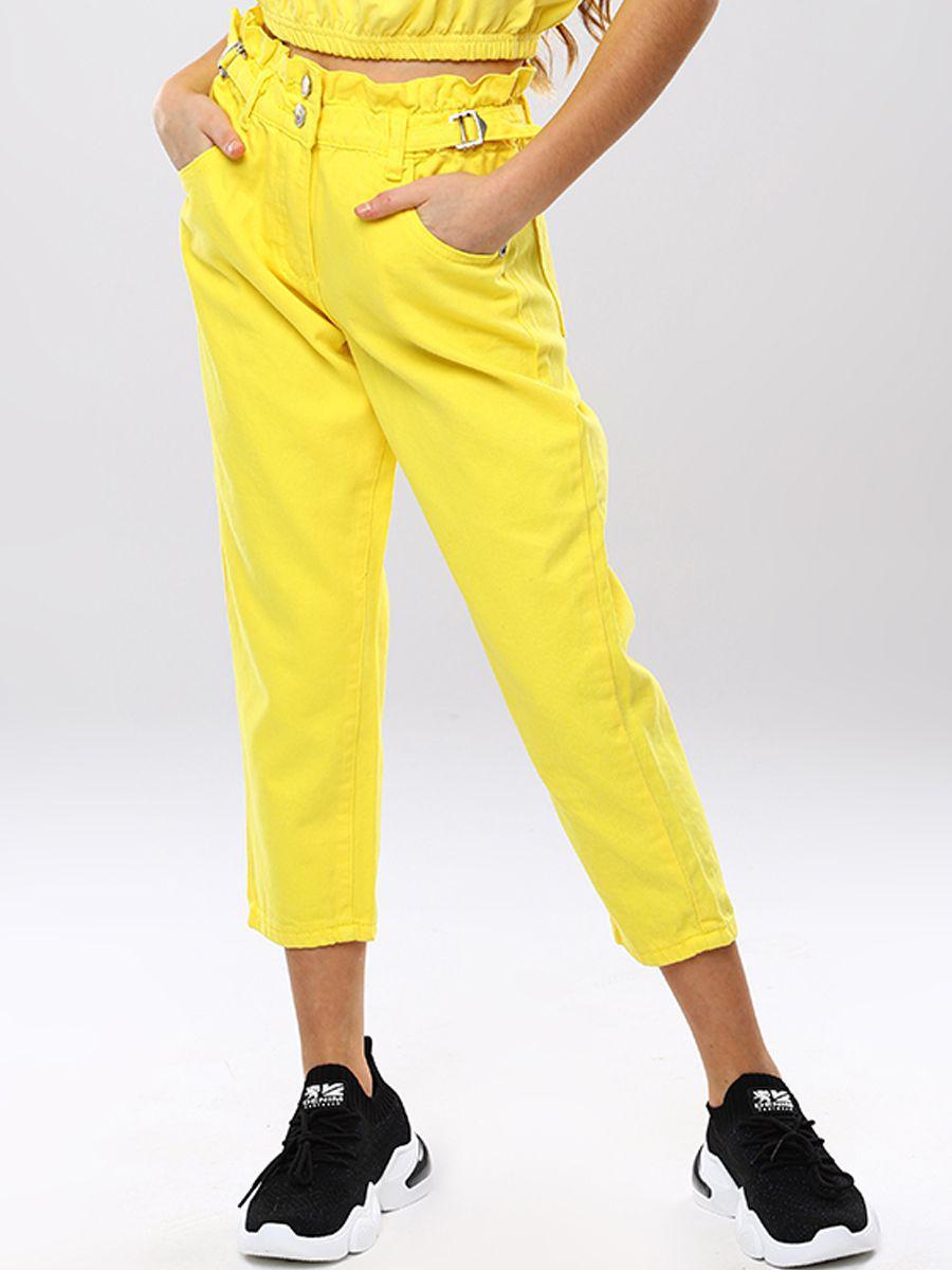брюки to be too для девочки, желтые