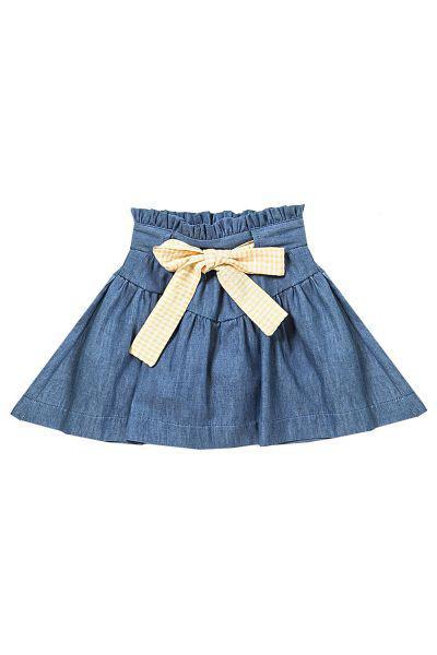 юбка gaialuna для девочки, синяя