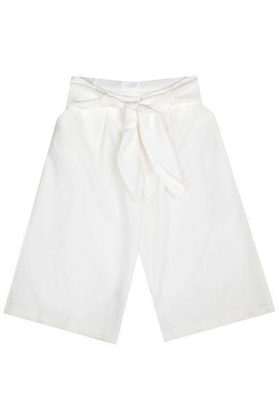 брюки gaudi для девочки, белые
