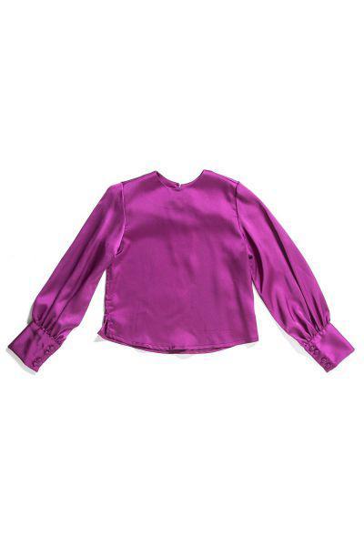 Купить Блуза, Gaialuna, Розовый, Полиэстер-100%, Женский