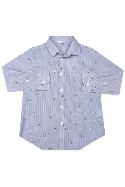 Купить Рубашка, Street Gang, Голубой, Хлопок-80%, Полиэстер-20%, Мужской
