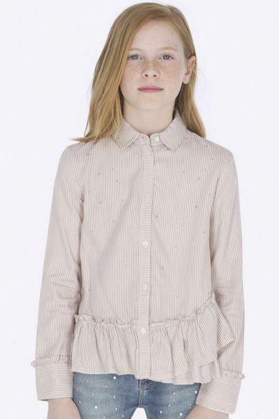 Купить Блуза, Mayoral, Разноцветный, Вискоза-100%, Женский